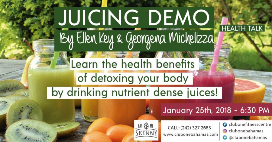 Don't go Home!  Join the EAT me Skinny girls TONIGHT for a JUICING DEMO!